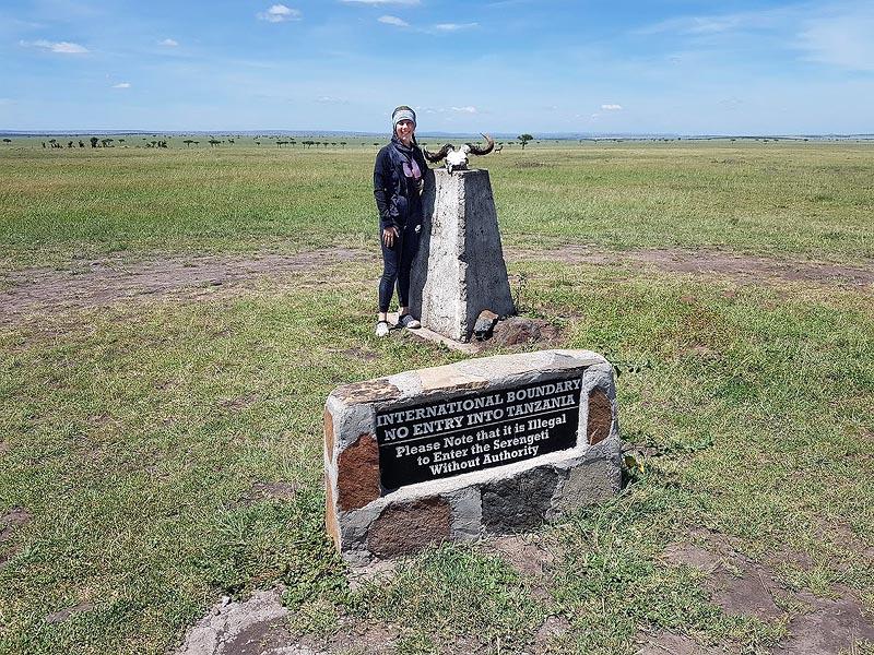 граница отделяющая кению от танзании