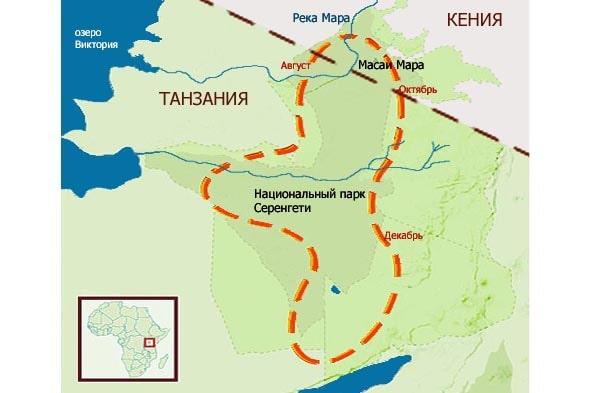 круговой маршрут великой миграции