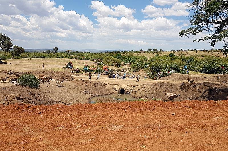 деревня масаев народа окруженного аурой легенды