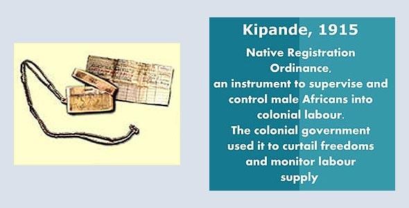 бумажный документ хранился в металлическом контейнере называемом кипанде