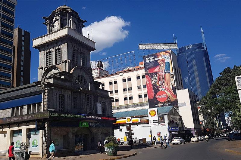 это двухэтажное здание с башней было самым высоким зданием в найроби