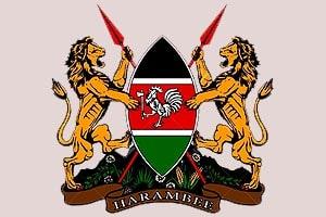 герб африканской страны кении