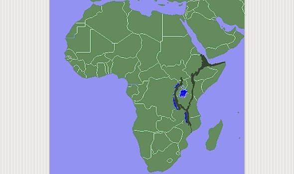 гигантский разлом в восточной части африки
