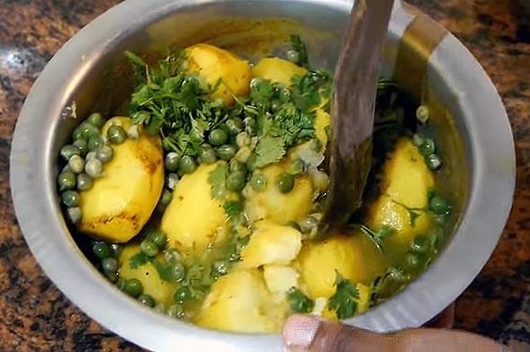 аутентичное блюдо под названием ирио
