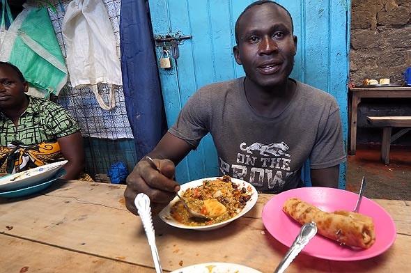 одно из африканских блюд