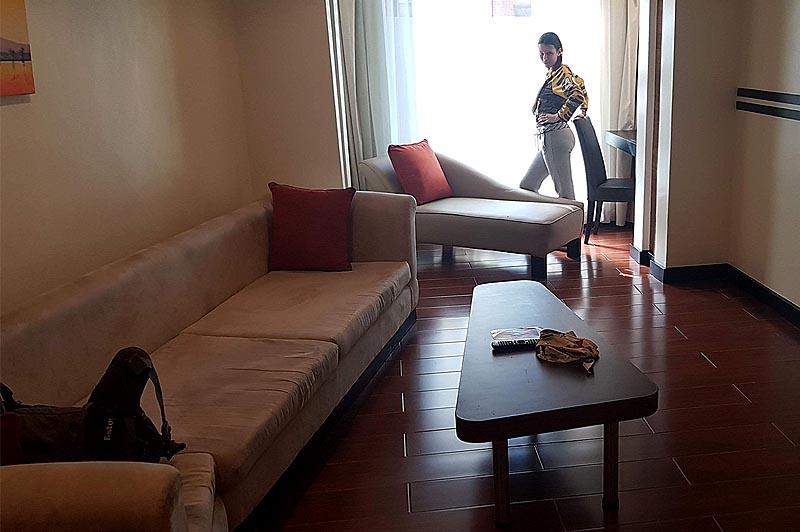 наш номер в гостинице найроби