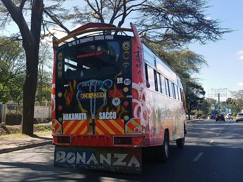 преодолевать расстояния можно на автобусах