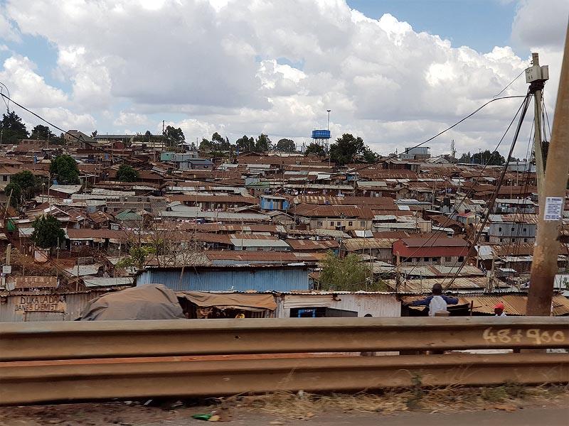 городские трущобы d найроби