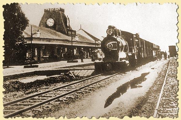 железнодорожный вокзал найроби начало 20 века
