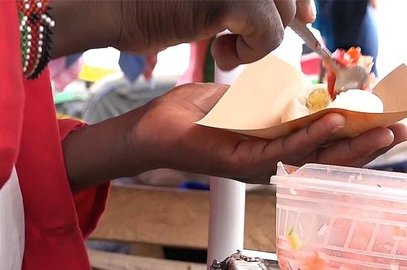 кенийцы любят перекусить яйцами фаршированными качумбари