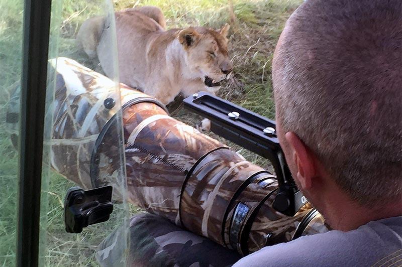 кенийское сафари охота за удачным фото