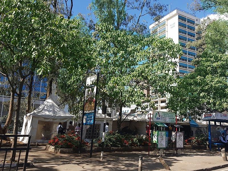 зеленый город найроби