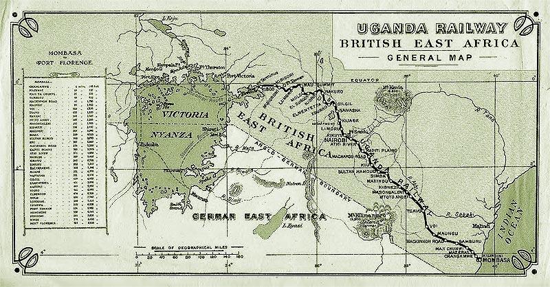 маршрут железнодорожной магистрали