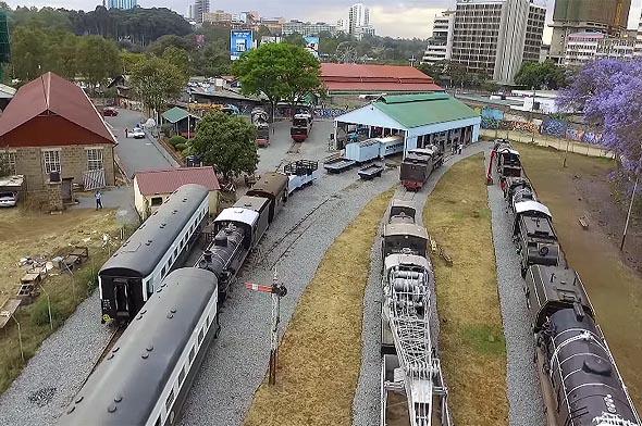 железнодорожный музей найроби рассказывает об истории строительства угандийской дороги и возникновении города