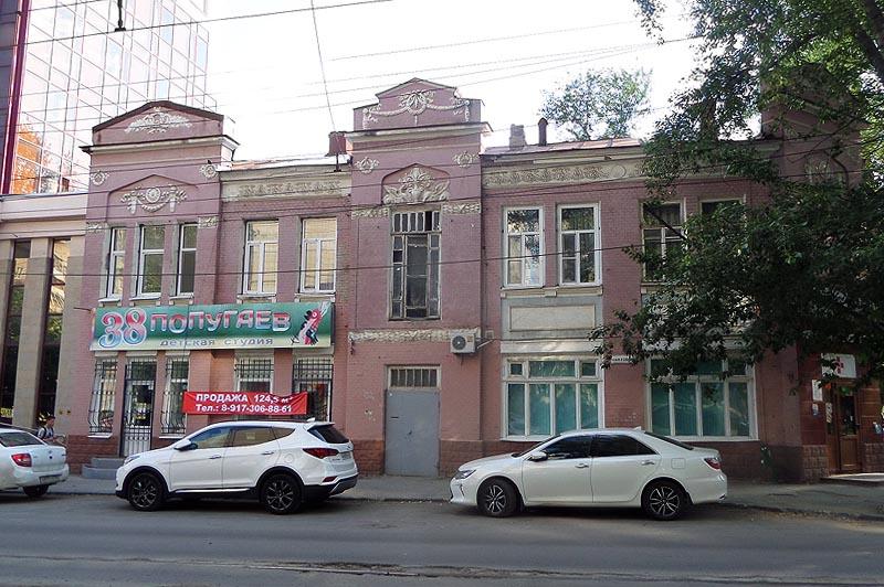 историческое здание аптеки фридолина