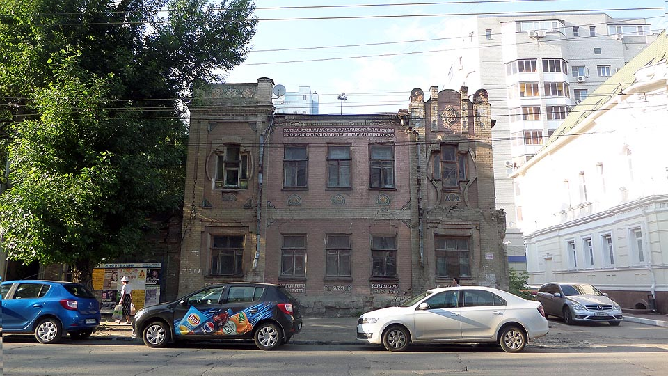 дом иванова мог бы стать украшением саратова