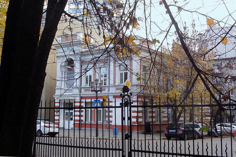 дом корбутовского напротив сквера липки