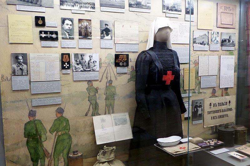 чудеса отваги и бесстрашия на стенде русско-японской войны в краеведческом музее