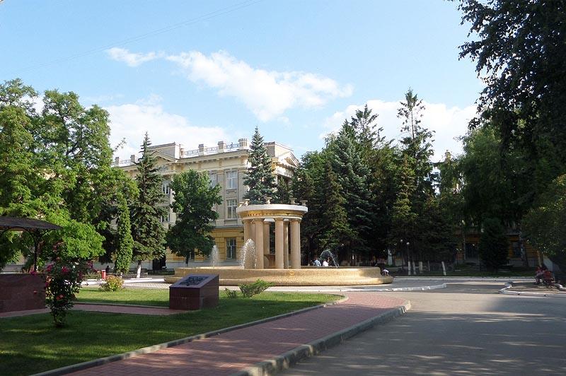 в университетском городке сгу саратов